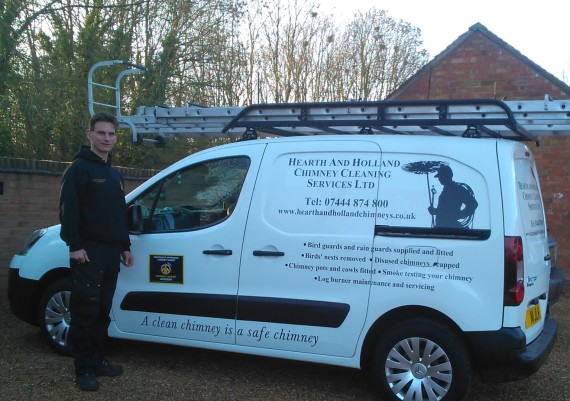 Chimney Sweep in Stafford - Hearth and Holland